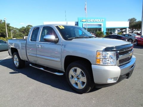 2010 Chevrolet Silverado 1500 LT Extended Cab Data, Info and Specs