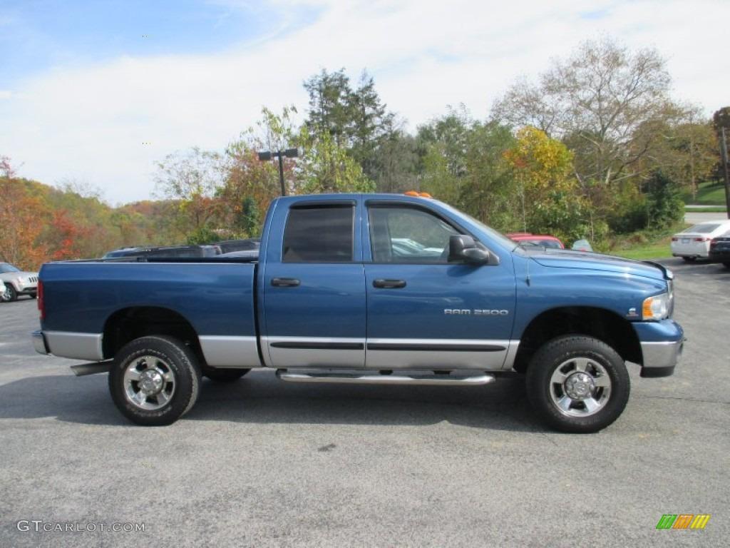 2005 atlantic blue pearl dodge ram 2500 slt quad cab 4x4 98597521 gtcarlot com car color