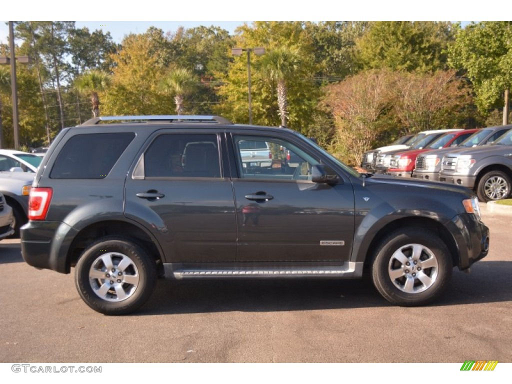 Tungsten Grey Metallic 2008 Ford Escape Limited Exterior