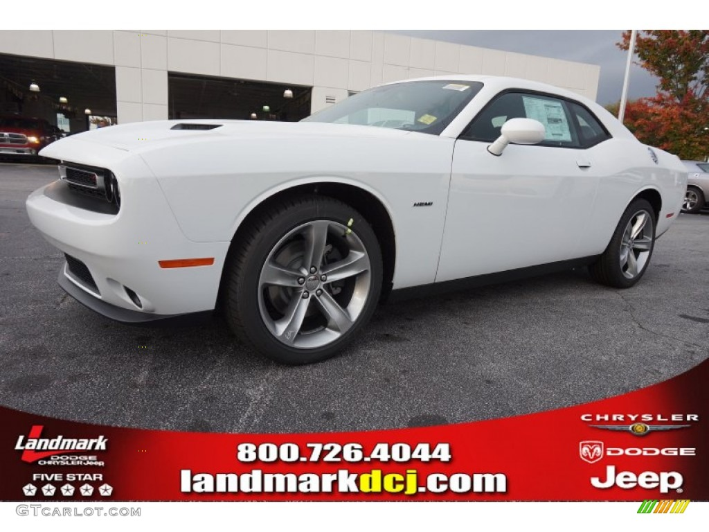 2015 Bright White Dodge Challenger R T 98637195 Car Color Galleries