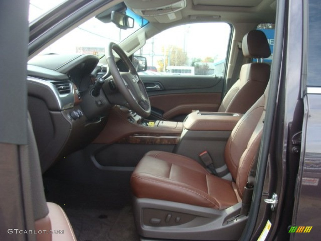 cocoa mahogany interior 2015 chevrolet suburban ltz 4wd photo