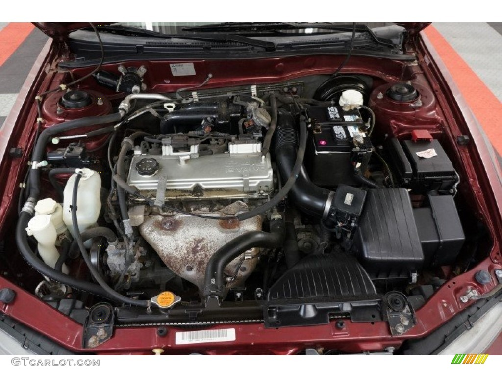 2003 Mitsubishi Galant ES Engine Photos | GTCarLot.com