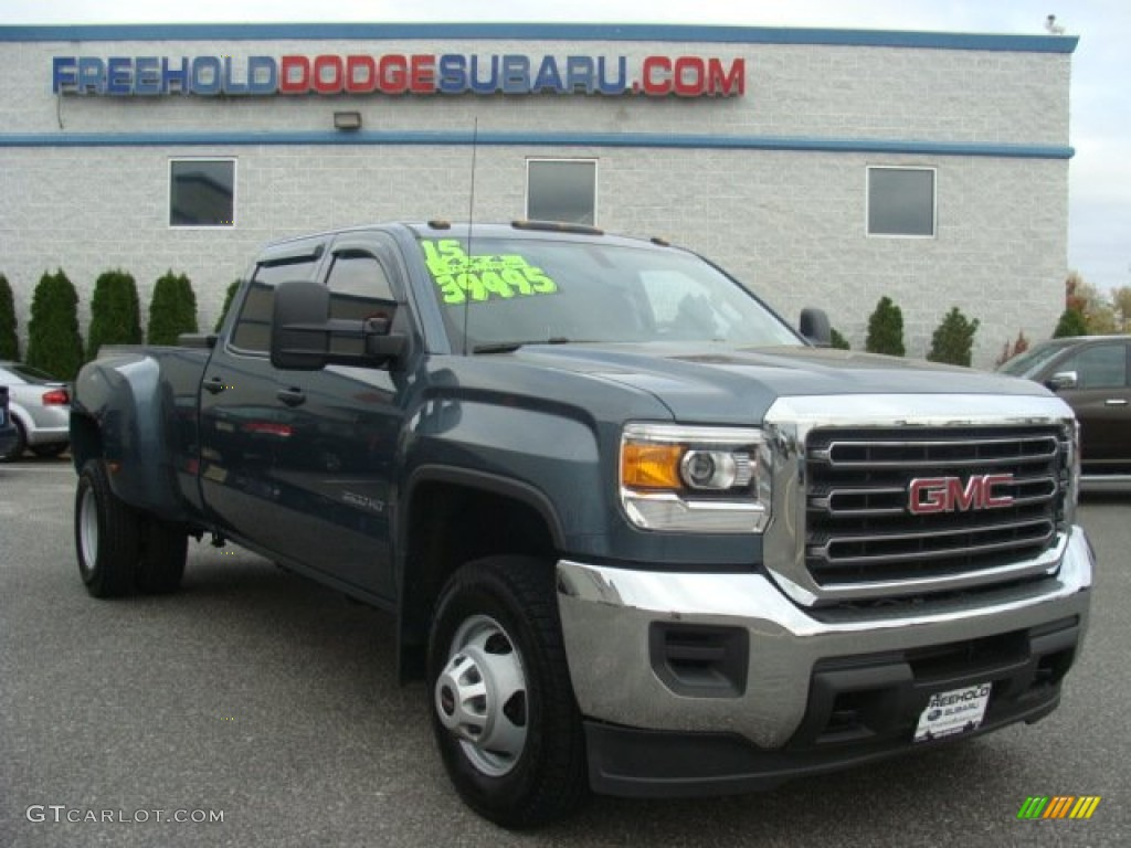 Stealth Gray Metallic Gmc Sierra 3500hd Work Truck