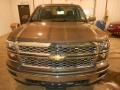 Brownstone Metallic - Silverado 1500 LT Double Cab 4x4 Photo No. 2