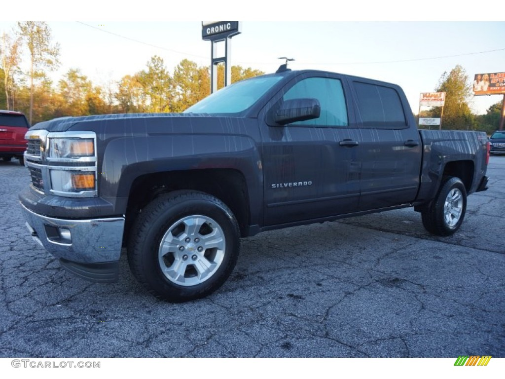 2015 tungsten metallic chevrolet silverado 1500 lt crew cab 98682217 photo 3. Black Bedroom Furniture Sets. Home Design Ideas