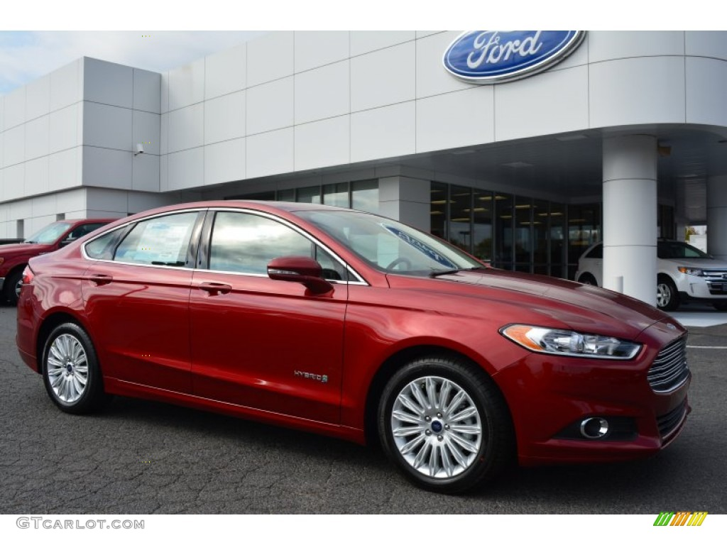 2015 ruby red metallic ford fusion hybrid se 98725155 car color galleries. Black Bedroom Furniture Sets. Home Design Ideas