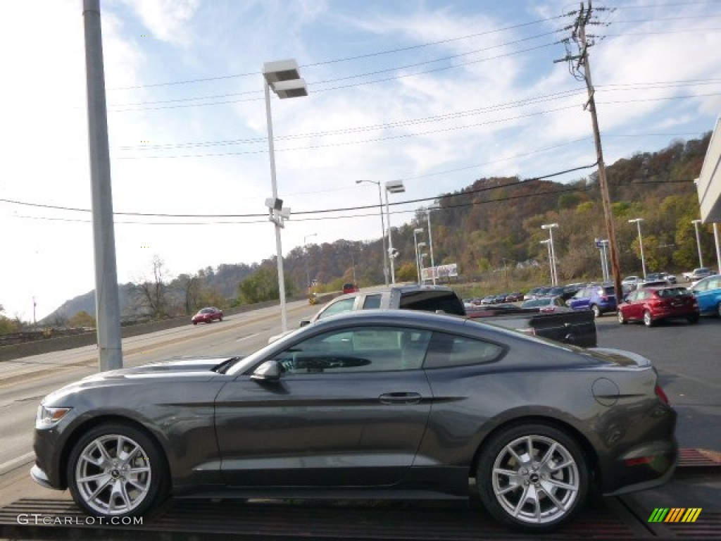 2015 magnetic metallic ford mustang ecoboost premium coupe 98725094 photo 5
