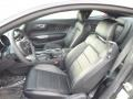 50 Years Raven Black Front Seat Photo for 2015 Ford Mustang #98761411
