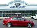2011 Red Candy Metallic Ford Fusion SEL  photo #1