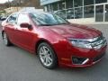 2011 Red Candy Metallic Ford Fusion SEL  photo #11