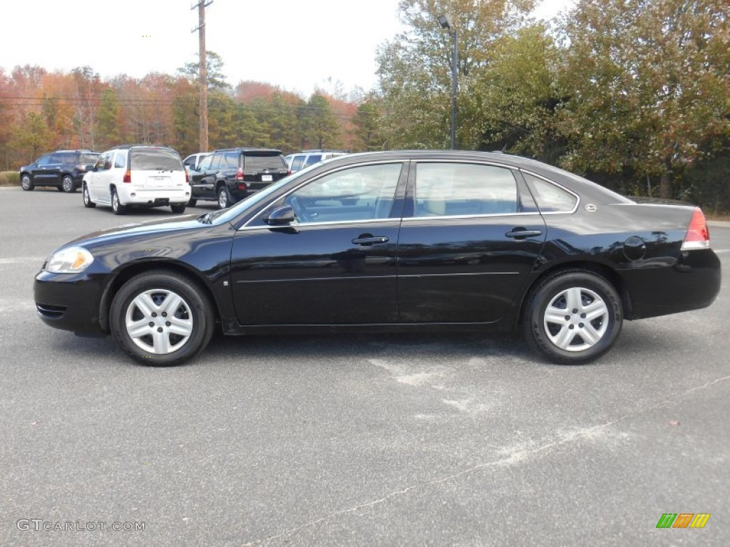 Black 2007 Chevrolet Impala Ls Exterior Photo 98803333