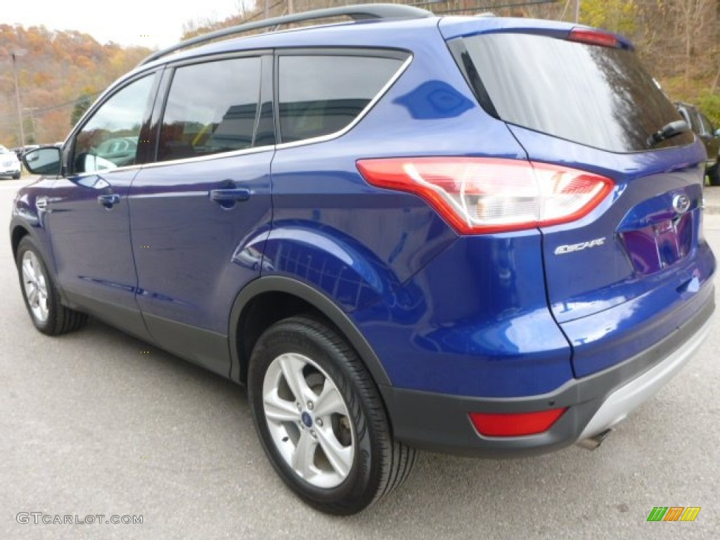 2014 Escape SE 2.0L EcoBoost 4WD - Deep Impact Blue / Medium Light Stone photo #8
