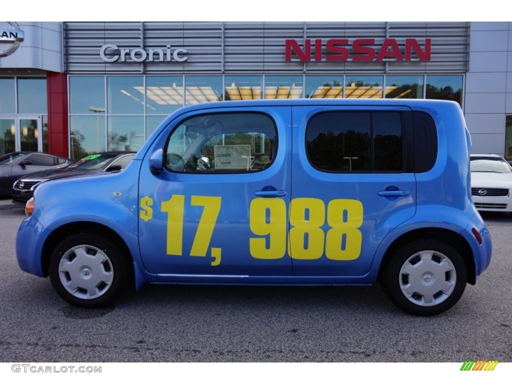 2014 bali blue nissan cube 1 8 s 98815597 car color galleries. Black Bedroom Furniture Sets. Home Design Ideas