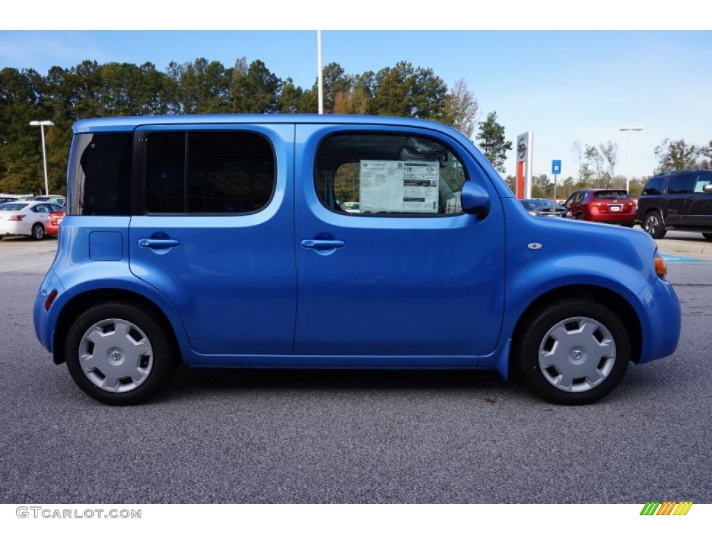 2014 bali blue nissan cube 1 8 s 98815597 photo 5 car color galleries. Black Bedroom Furniture Sets. Home Design Ideas