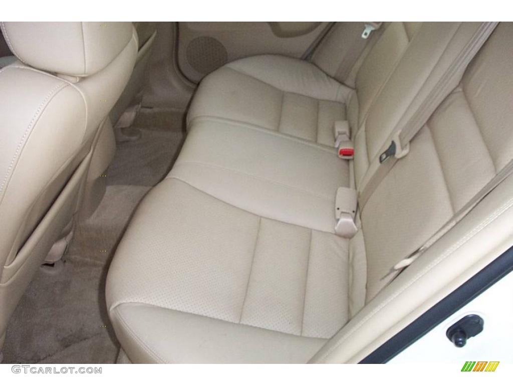 2008 TSX Sedan - Premium White Pearl / Parchment photo #8