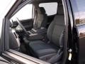 Jet Black Front Seat Photo for 2015 Chevrolet Silverado 1500 #98826313