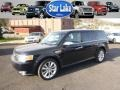 Dark Ink Blue Metallic 2009 Ford Flex Gallery