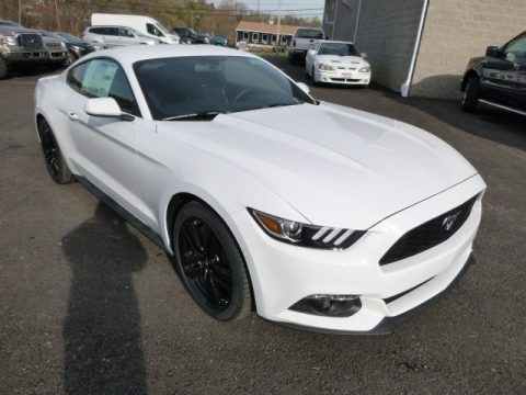 2015 Ford Mustang EcoBoost Coupe Data, Info and Specs