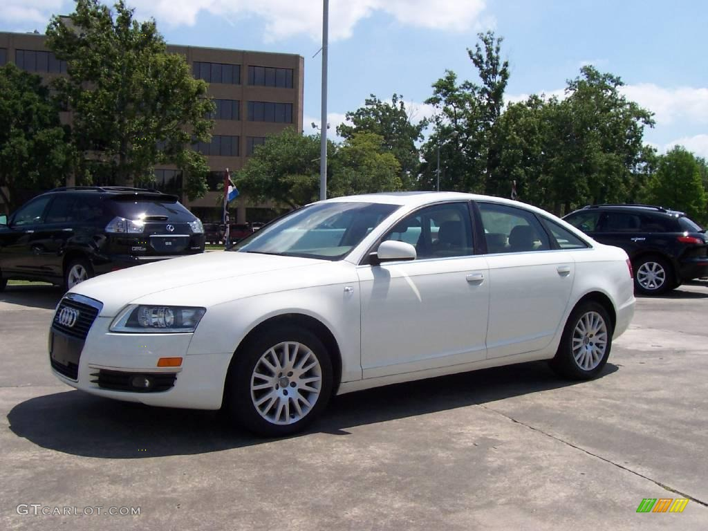 2006 Arctic White Audi A6 3 2 Quattro Sedan 9881748 Gtcarlot Com Car Color Galleries