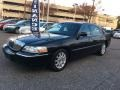 Black 2011 Lincoln Town Car Signature Limited