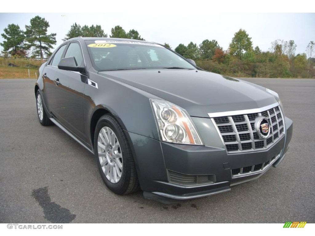 2012 Thunder Gray Chromaflair Cadillac Cts 4 3 0 Awd Sedan