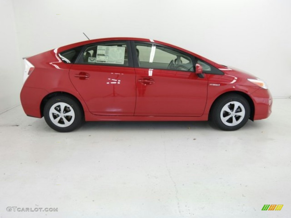 2015 absolutely red toyota prius two hybrid 98815635. Black Bedroom Furniture Sets. Home Design Ideas