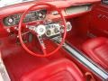 1965 Ford Mustang Red Interior Interior Photo