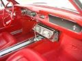1965 Ford Mustang Red Interior Dashboard Photo
