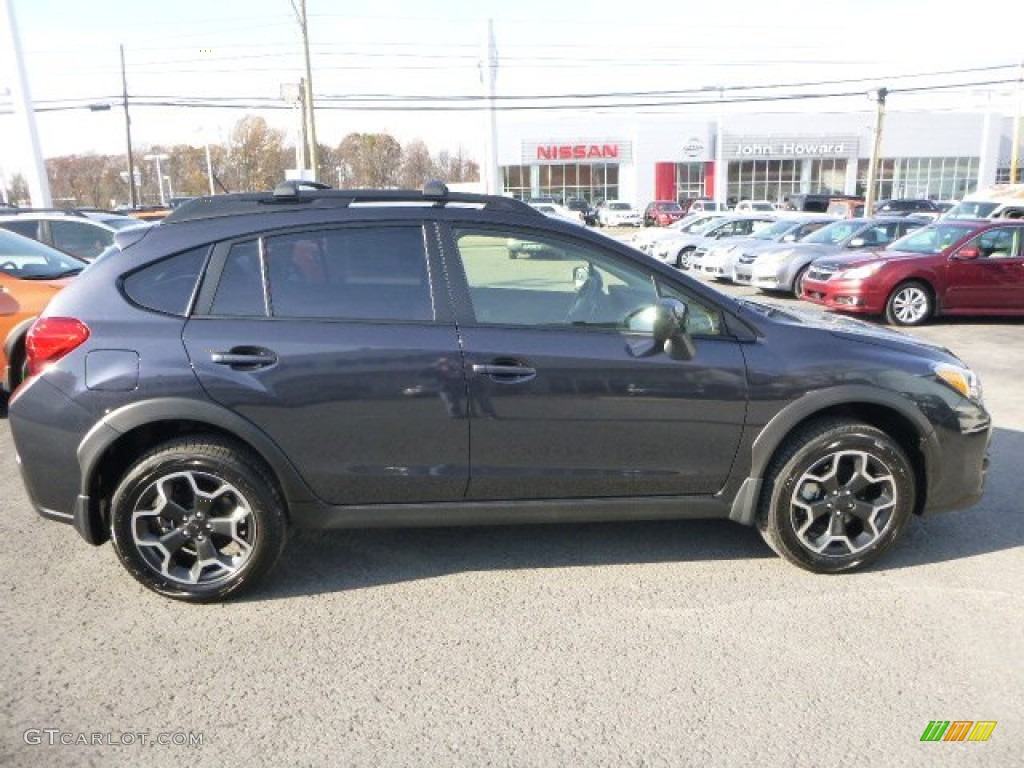 2014 dark gray metallic subaru xv crosstrek premium 98854563 photo 2 car. Black Bedroom Furniture Sets. Home Design Ideas