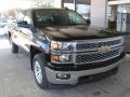 2015 Black Chevrolet Silverado 1500 LTZ Crew Cab 4x4 #98854633