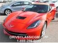 Torch Red 2015 Chevrolet Corvette Stingray Convertible