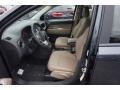 Dark Slate Gray/Light Pebble Beige 2015 Jeep Compass Interiors