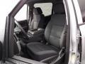 Jet Black Front Seat Photo for 2015 Chevrolet Silverado 1500 #98905002