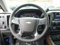 Jet Black Steering Wheel Photo for 2015 Chevrolet Silverado 1500 #98905711
