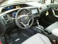 Gray Prime Interior Photo for 2015 Honda Civic #98936118