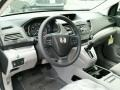 2014 Alabaster Silver Metallic Honda CR-V LX AWD  photo #3