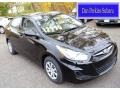 Ultra Black 2012 Hyundai Accent GLS 4 Door