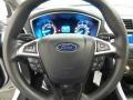 2013 Oxford White Ford Fusion S  photo #17
