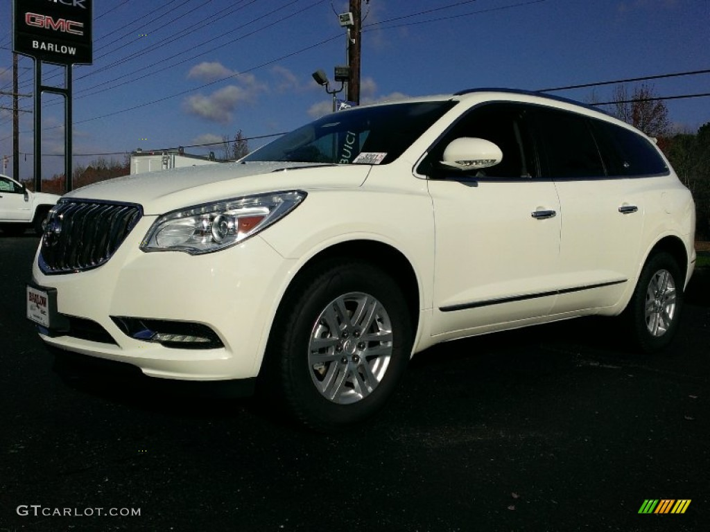 White Opal Buick Enclave