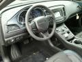 Black 2015 Chrysler 200 Interiors