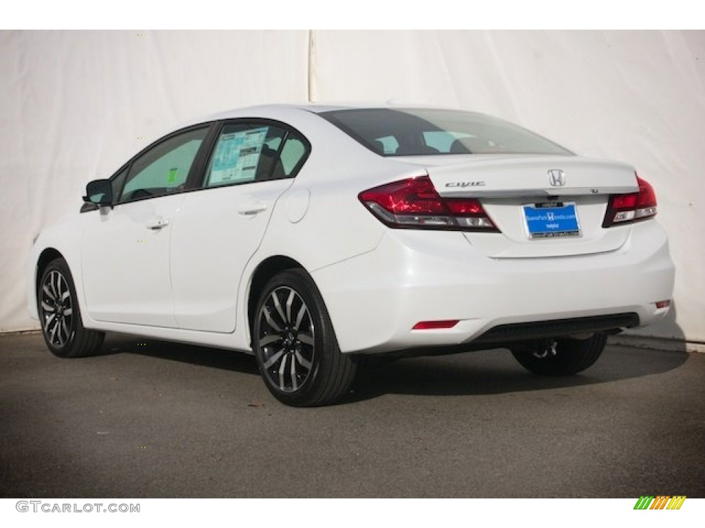 Honda Civic White Orchid Pearl Paint