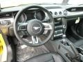 50 Years Raven Black Dashboard Photo for 2015 Ford Mustang #98990106