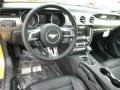 2015 Ford Mustang 50 Years Raven Black Interior Dashboard Photo