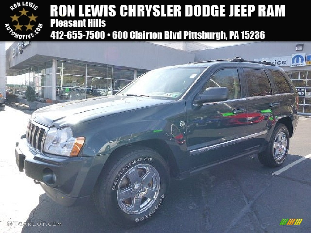 Deep Beryl Green Pearl Jeep Grand Cherokee