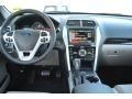 2015 Ford Explorer Medium Light Stone Interior Dashboard Photo