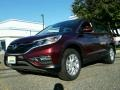 2015 Basque Red Pearl II Honda CR-V EX AWD  photo #1