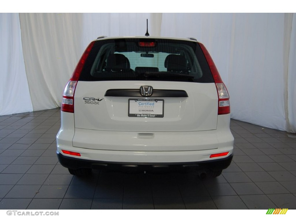 2011 CR-V LX - Taffeta White / Gray photo #7