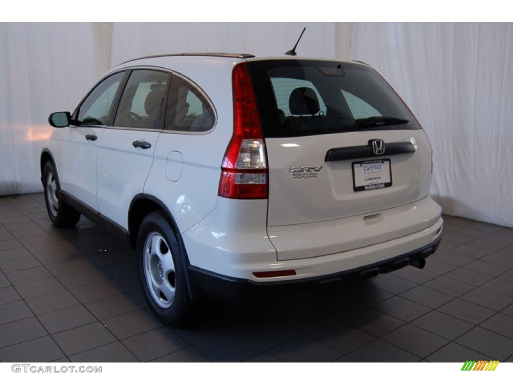 2011 CR-V LX - Taffeta White / Gray photo #8
