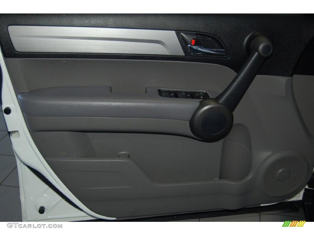 2011 CR-V LX - Taffeta White / Gray photo #12