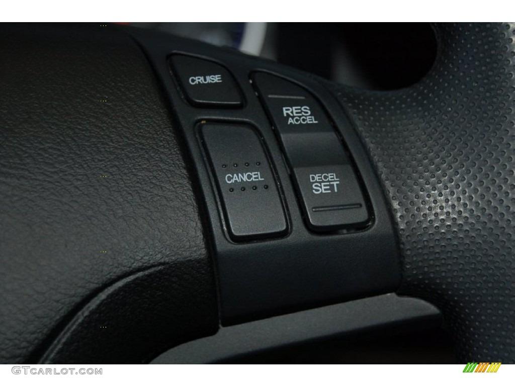 2011 CR-V LX - Taffeta White / Gray photo #19